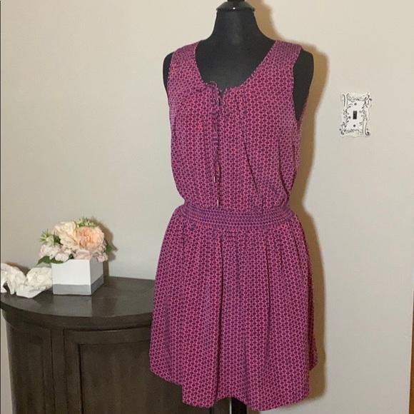 GAP Dresses & Skirts - Trendy light weight stretch waist gap pink dress
